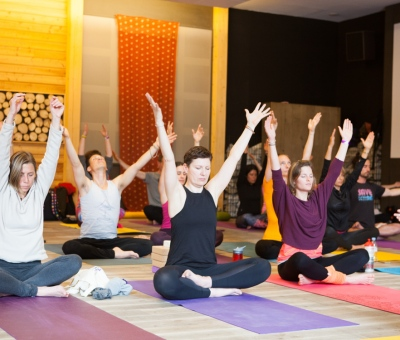 Yogis in the Mix Arms High 2