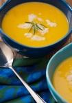 2 bowl soup Bistro bio yoga festival val d'isere