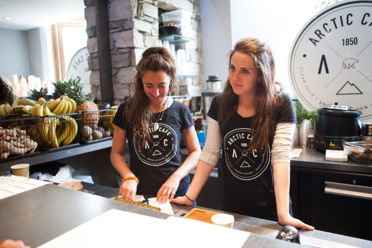 Arctic Café Girls